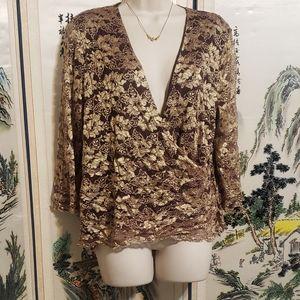 Womens plus size blouse by Lane Bryant